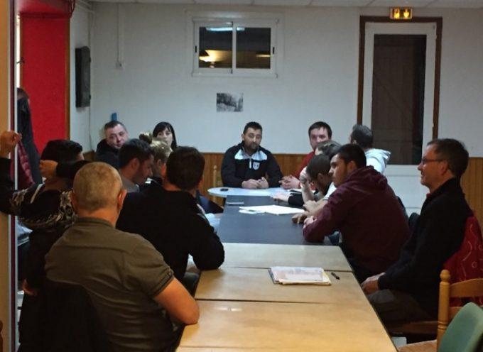 Comité des fêtes de Lavelanet de Comminges : Le passage de témoin.