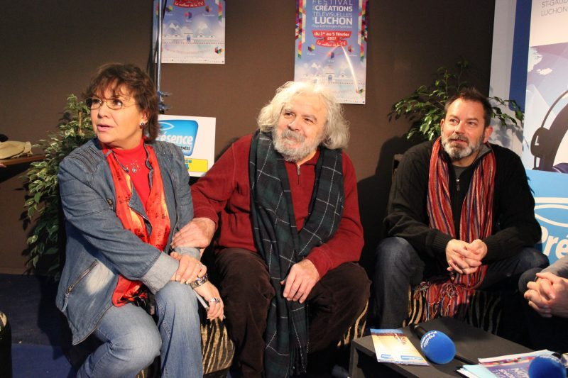 Anne-Marie David, Jean Musy et Christophe Cheysson