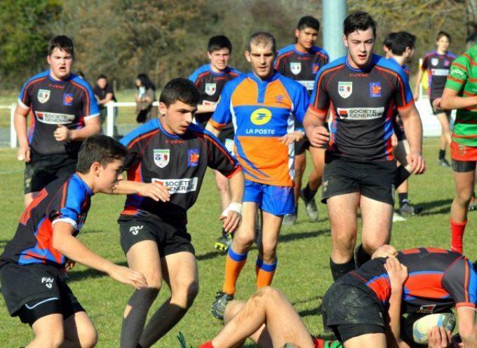 Rugby : Les cadets et juniors du LPDC.