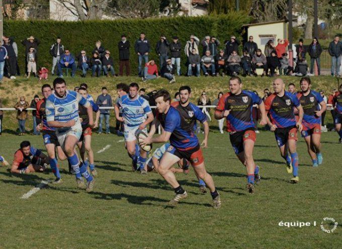 Rugby XV : L'UCF mal récompensé.