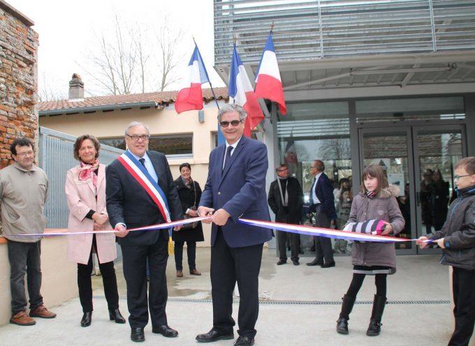 Inauguration de l'école élémentaire de Miremont.