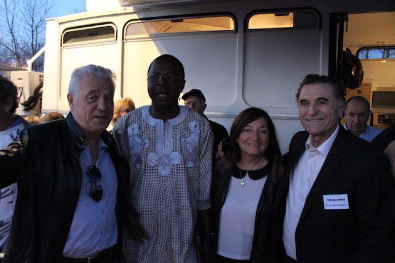 Autour de Georges Ouedraogo pneumologue à Ouagadougou, l'association Res Publica et Pierre Del Tedesco