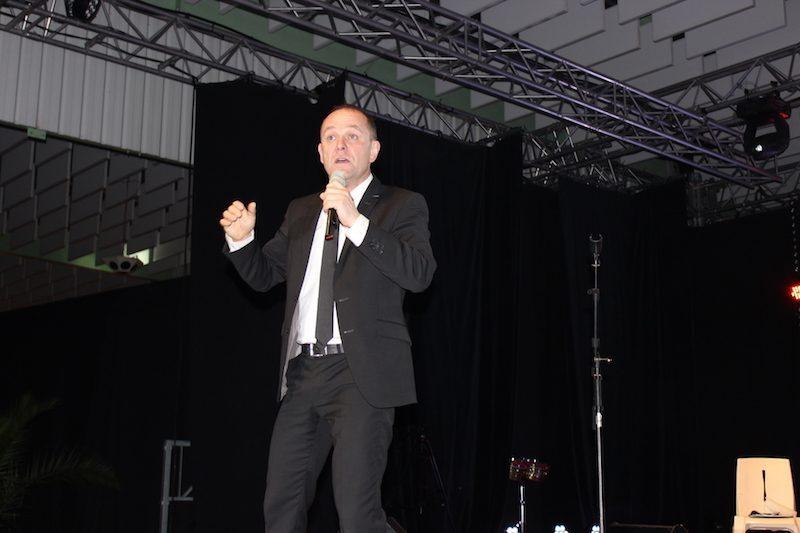 Laurent Chandemerle l'imitateur  a été plébiscité par le public.