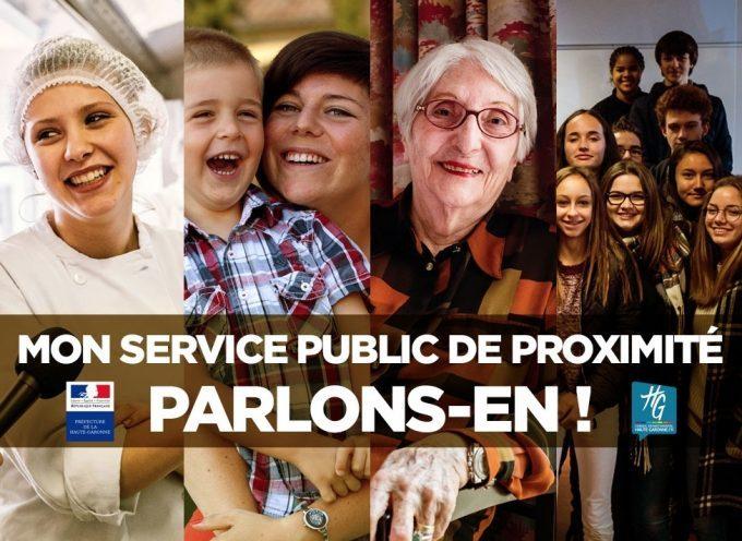 Schéma départemental de service au public : Votre participation est décisive.