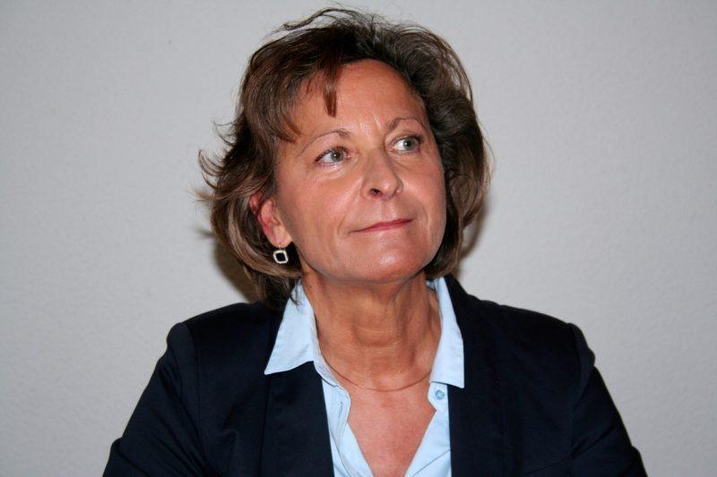 La conseillère régionale Marie Caroline Tempesta candidate pour le parti socialiste aux législatives de juin 2017 dans la 7° circonscription de la Haute Garonne.
