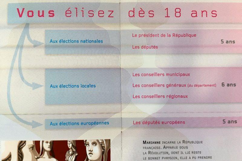 Les droits et devoirs sur le livret citoyen