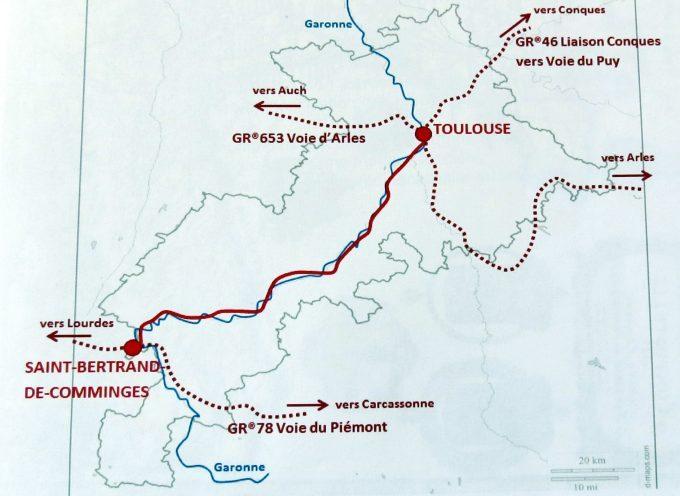 Via Garona : Itinéraire touristique.