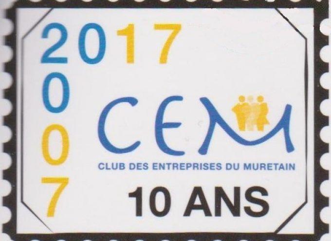 A. G. des 10 ans du Club des Entreprises du Muretain.