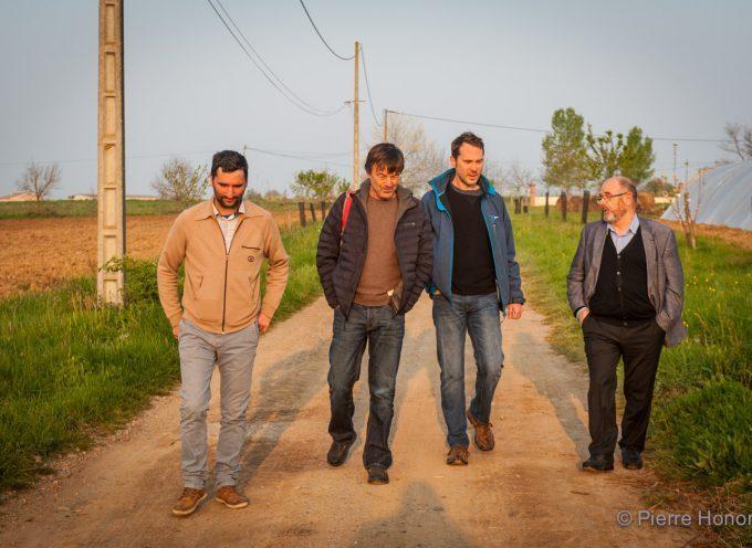 Poucharramet: Nicolas Hulot rend visite à 3PA