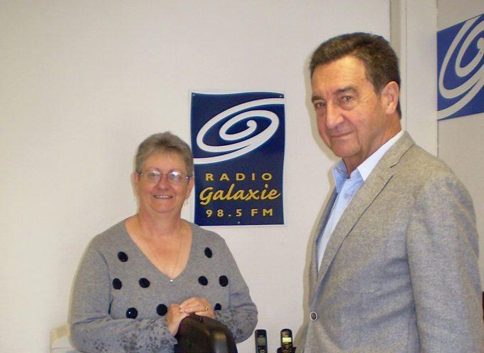 Bernard Bros, maire de Carbonne, invité de Radio Galaxie.