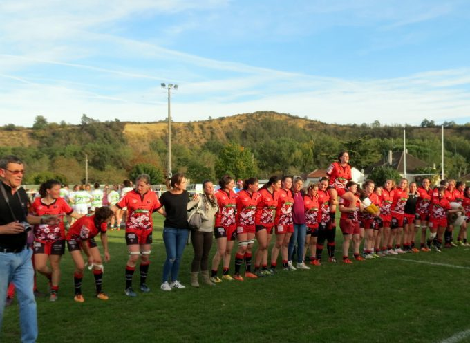 Le Fémina Rugby en quart de final de Fédérale 1.