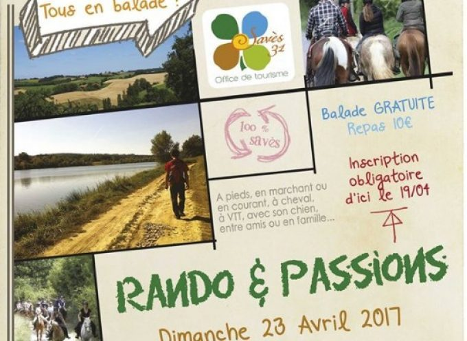 La 5° édition de « Rando & Passions »