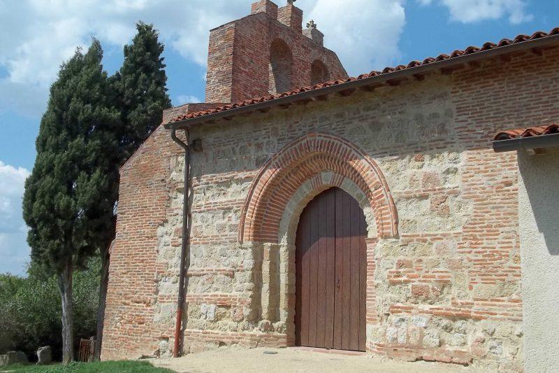 La superbe chapelle de Saint-Amans
