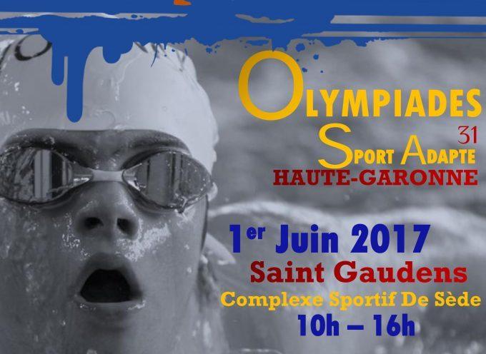 Saint Gaudens : Premières olympiades du sport adapté.