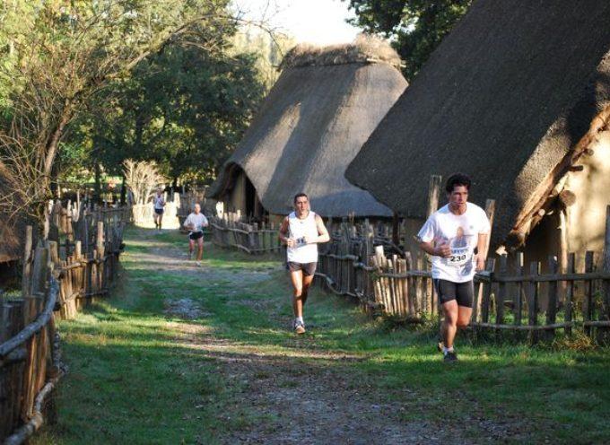 Seizième trail Gaulois de courir en Volvestre