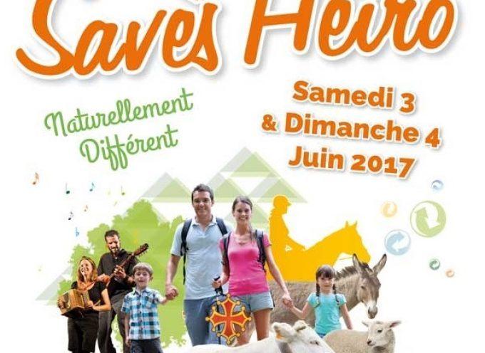 Seconde édition de Savès Hèiro les 3 et 4 Juin 2017 à Rieumes