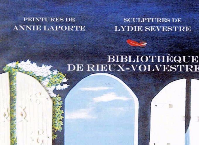 Annie Laporte et Lydie Sevestre expose à Rieux : Minéral Min Air Eaux