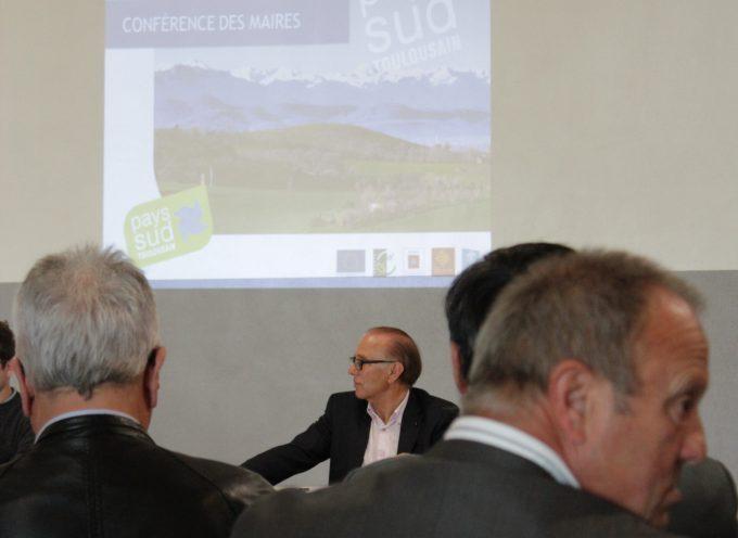 Les maires du Pays Sud Toulousain en conférence.
