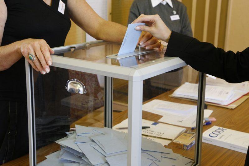 Le bureau de vote
