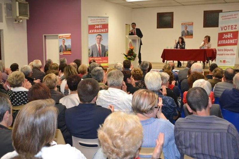 Salle comble pour ce premier meeting de campagne