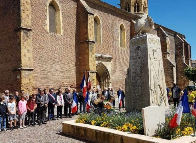 Martres Tolosane : Cérémonie Commémorative 8 mai 1945