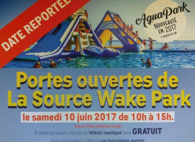 Portes ouverte de La Source Wake Park.