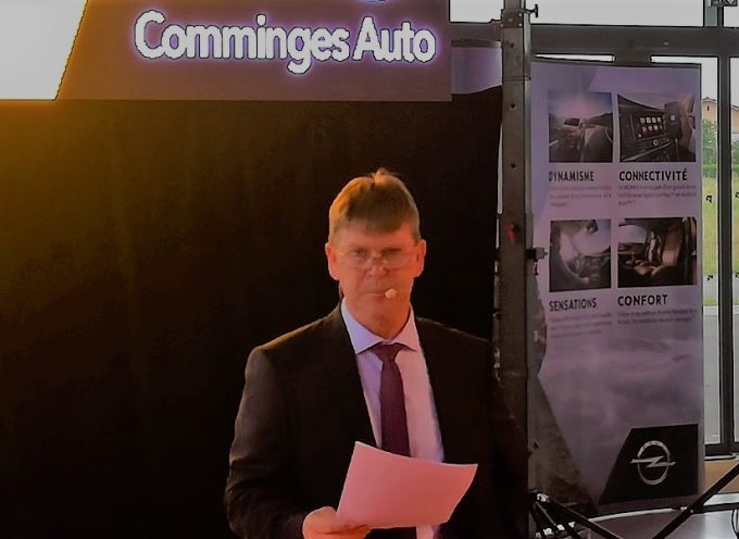 Inauguration de la concession « Comminges auto » de Saint Gaudens.