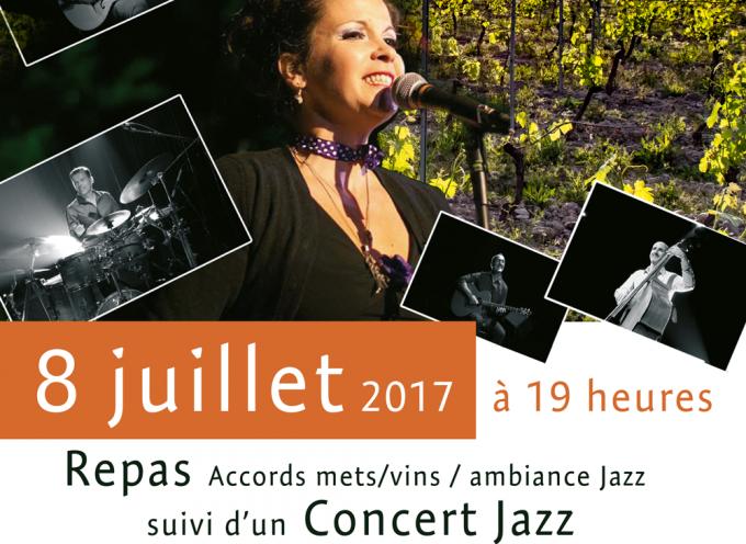 « Jazz dans les vignes » au domaine de Cadeillac.