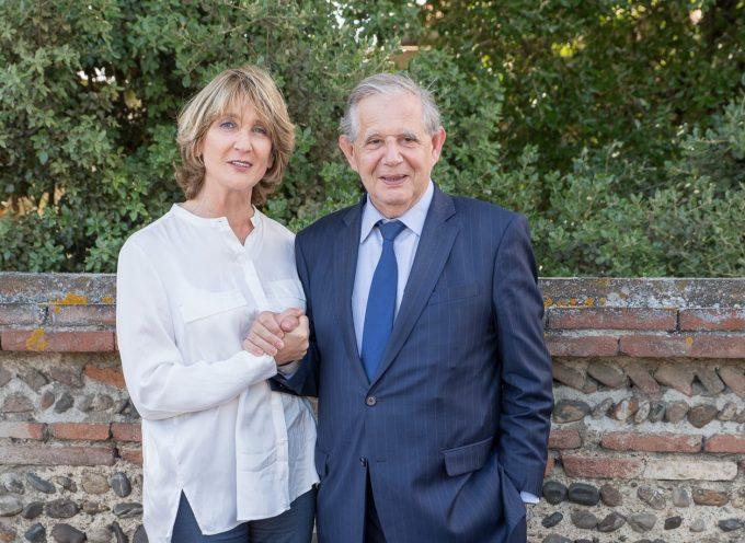"""Élisabeth Toutut-Picard, candidate pour """"La République En Marche"""",  a rencontré Jacques Mézard, ministre de l'agriculture"""