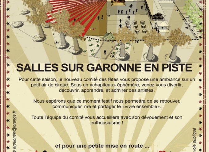 Les fêtes de Salles sur Garonne week-end du 1er juillet