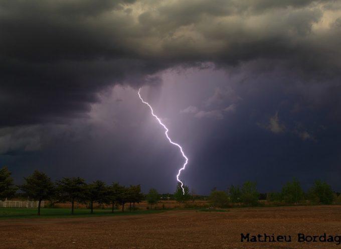 Vigilance météorologique orange aux orages sur le département de la Haute-Garonne.