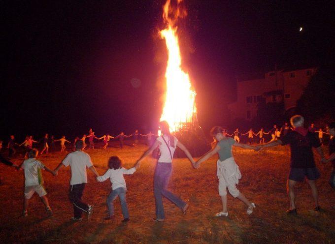 Le feu de la Saint Jean à Rieux Volvestre