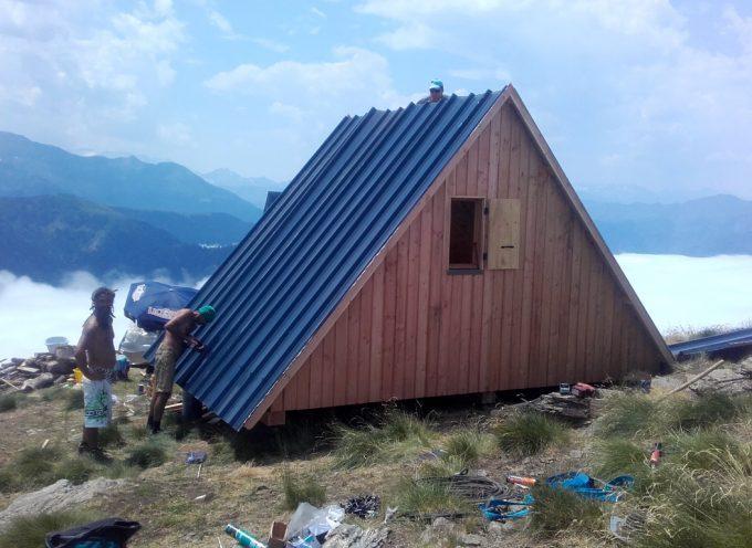 Une cabane pastorale dans la montagne du Luchonnais.