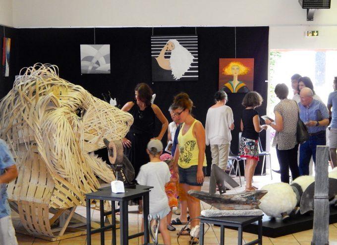 Le 6ème salon des arts se déroulera à Ste Croix Volvestre du 28 Juillet au 5 Août