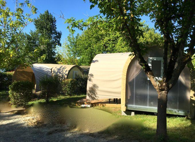 Insolite et original, les Coco Sweet débarquent au camping du plan d'eau de Rieux !