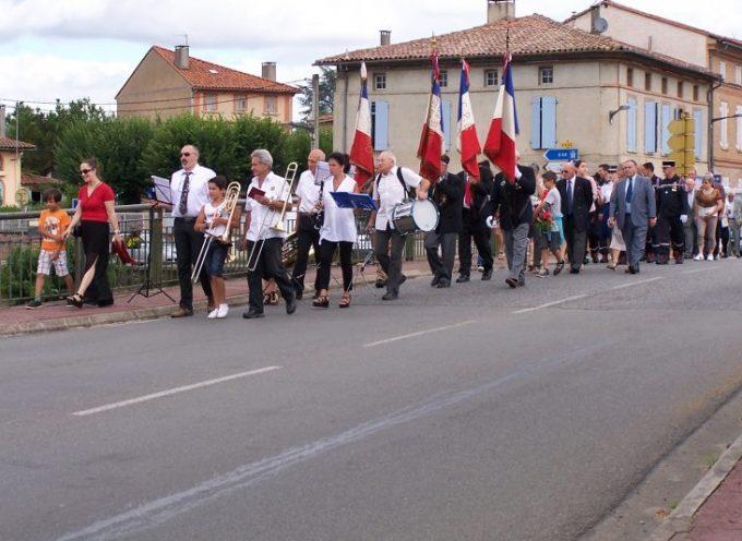 Commémoration du 14 juillet à Montesquieu.