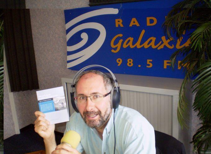 L'écrivain Patrice Teisseire-Dufour dans les studios de Radio Galaxie