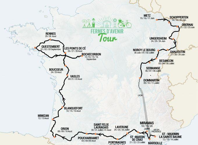 Le Tour de France s'est arrêté à Poucharramet.