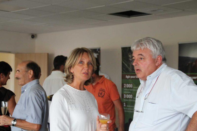 Monsieur Jean Bernard Portet et madame la députée