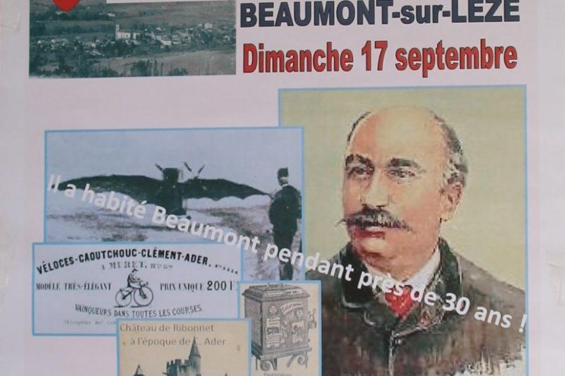Clément Ader à Beaumont