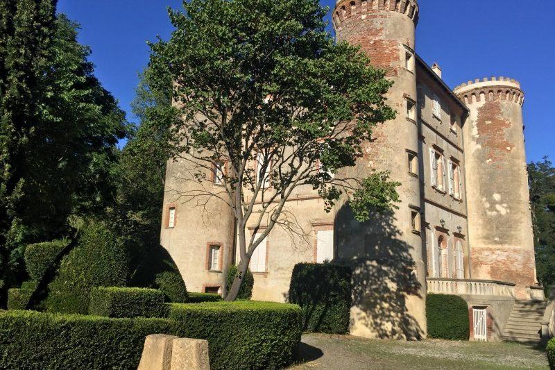 Le château de Longages-Comminges