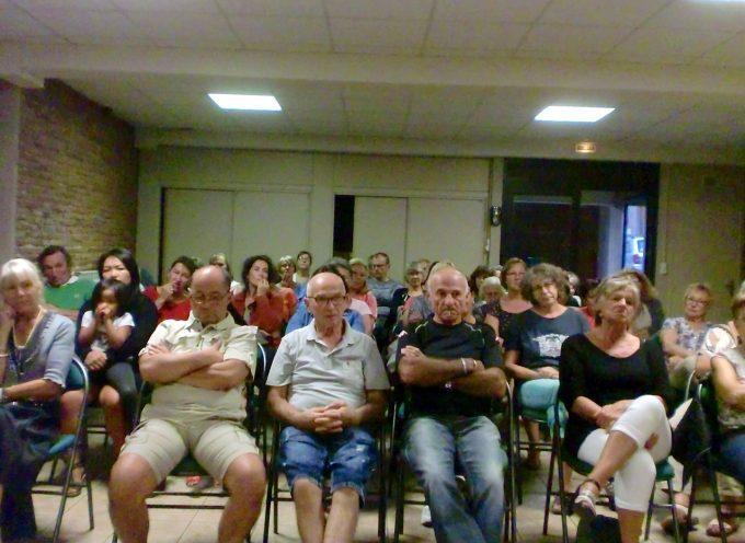 L'assemblée générale des marcheurs du foyer rural de Rieux.