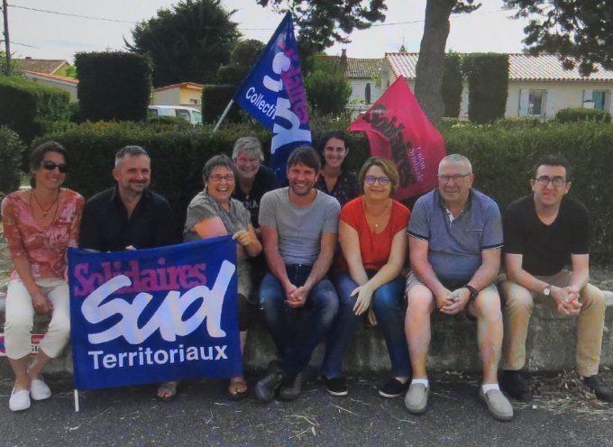 Syndicat Sud : Enfin !  Un local digne de ce nom (communiqué de presse).
