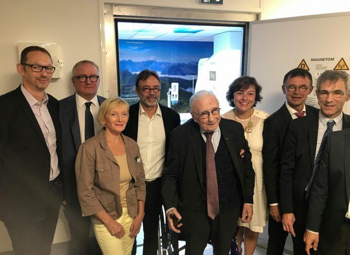 Inauguration du nouvel IRM à l'hôpital de Saint-Gaudens.