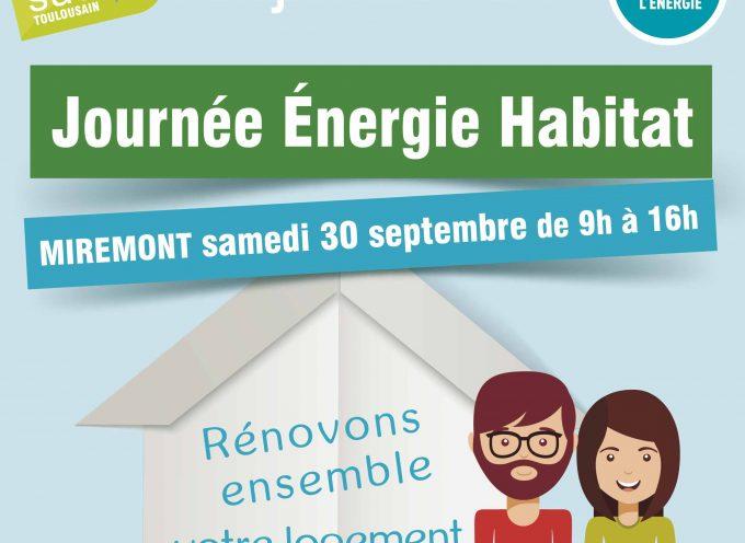 Le Pays sud-toulousain et la journée Énergie Habitat.