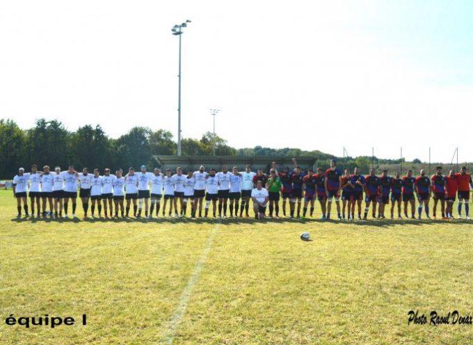 Premier match pour l'UCF XV.