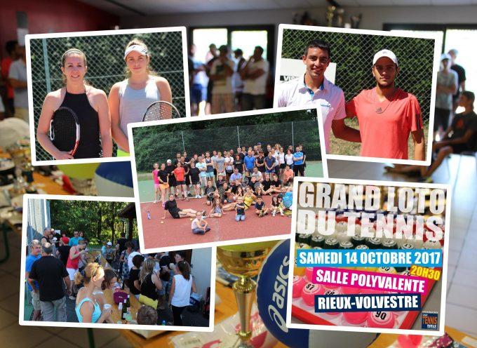 Le club de Tennis de Rieux-Volvestre d'attaque pour la saison 2017-2018.