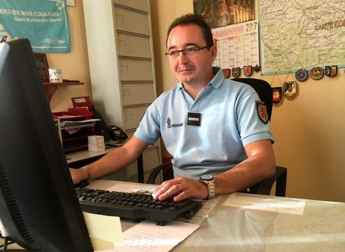 La gendarmerie renouvelle ses cadres à Rieux Volvestre.