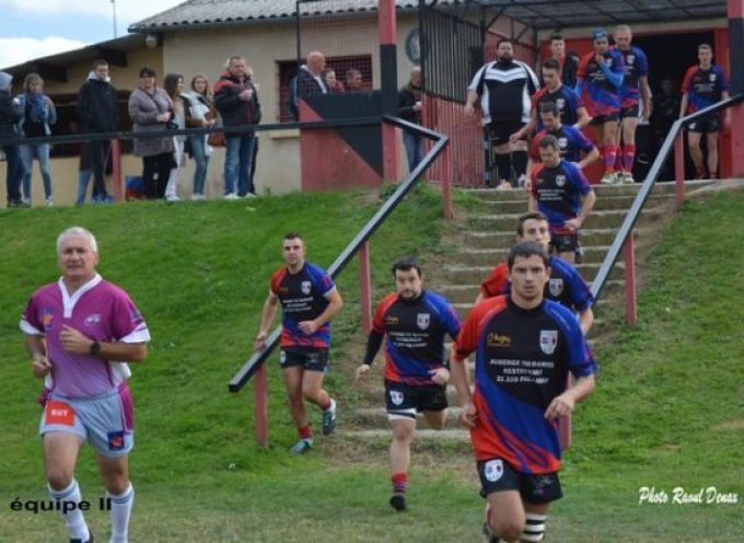 Rugby XV : L'UCF s'accroche et gagne.