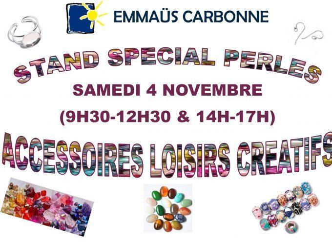 Emmaüs Carbonne : vente spéciale